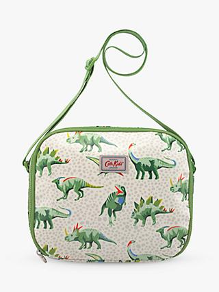 Cath Kids Children's Jurassic Friends Lunch Bag, Green