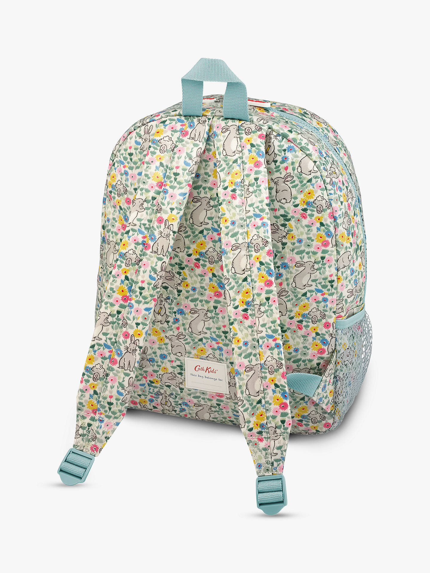 e0d3ca5b61 Buy Cath Kids Children's Bunny Meadow Print Large Padded Rucksack, Multi  Online at johnlewis.