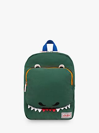 Cath Kids Children's Dinosaur Print Medium Backpack, Green