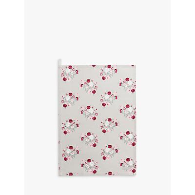 Sophie Allport Peony Tea Towel, Multi