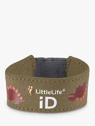 Littlelife Dinosaur Id Strap Green