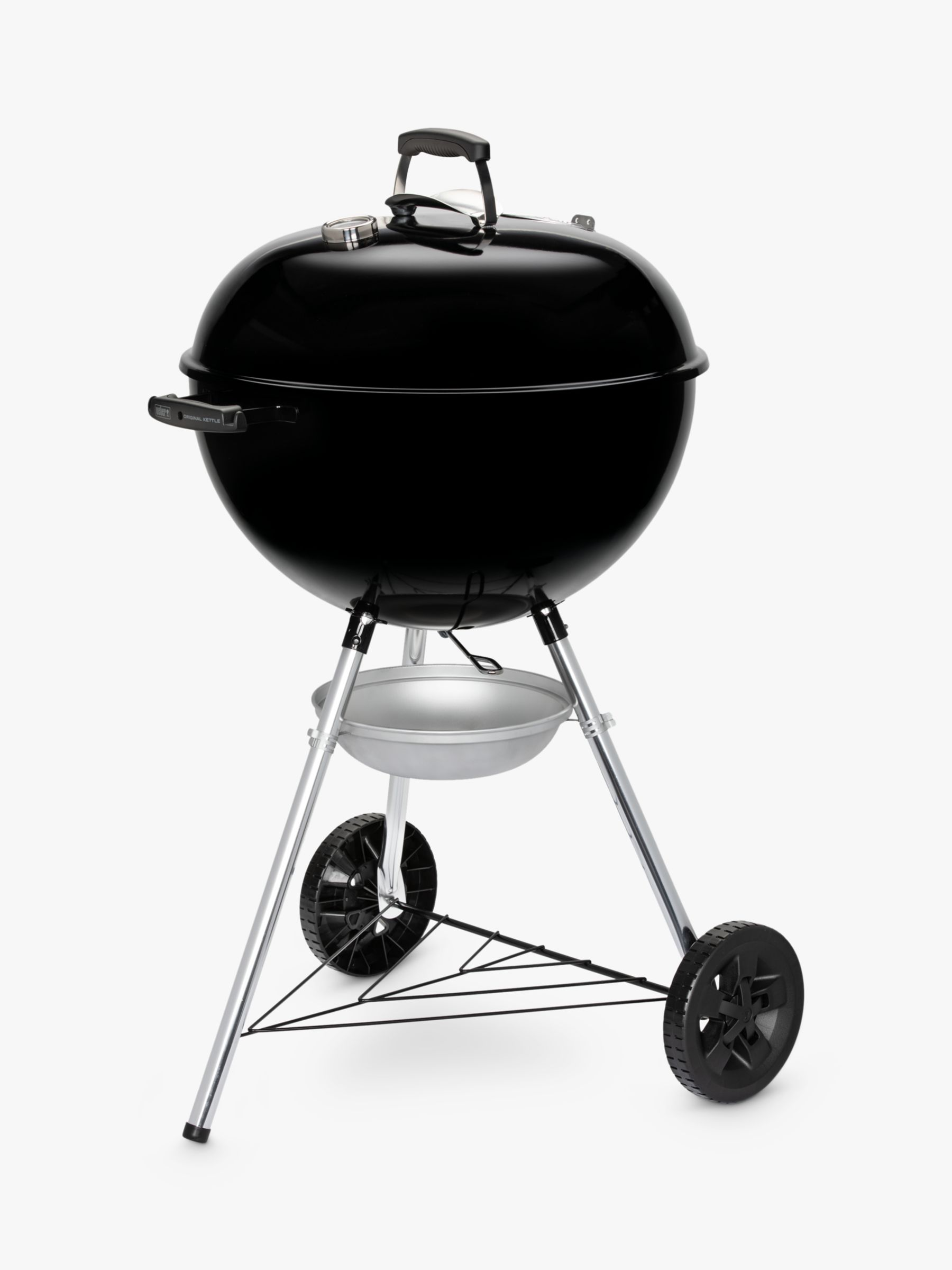 Weber Weber One Touch E5710 Original Kettle Charcoal BBQ, 57cm, Black