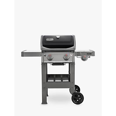 Weber Spirit E-220 2-Burner Gas BBQ with Side Burner