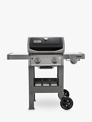 Weber Spirit E-220 2-Burner Gas BBQ with Side Burner & Weber Poultry Roaster for GBS Gourmet BBQ System