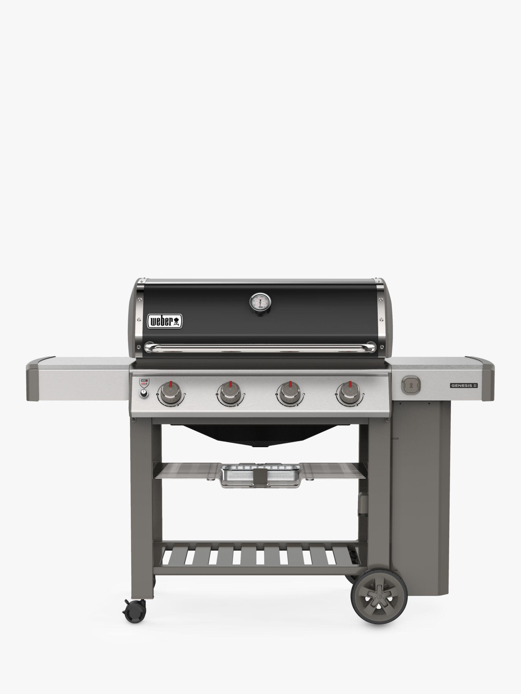 Weber Weber Genesis II E-410 4-Burner Gas BBQ, Black
