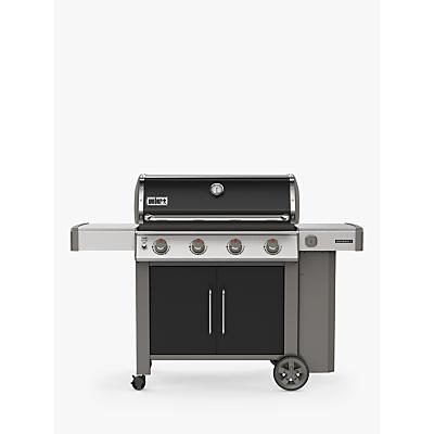 Weber Genesis II E-415 4-Burner Gas BBQ, Black