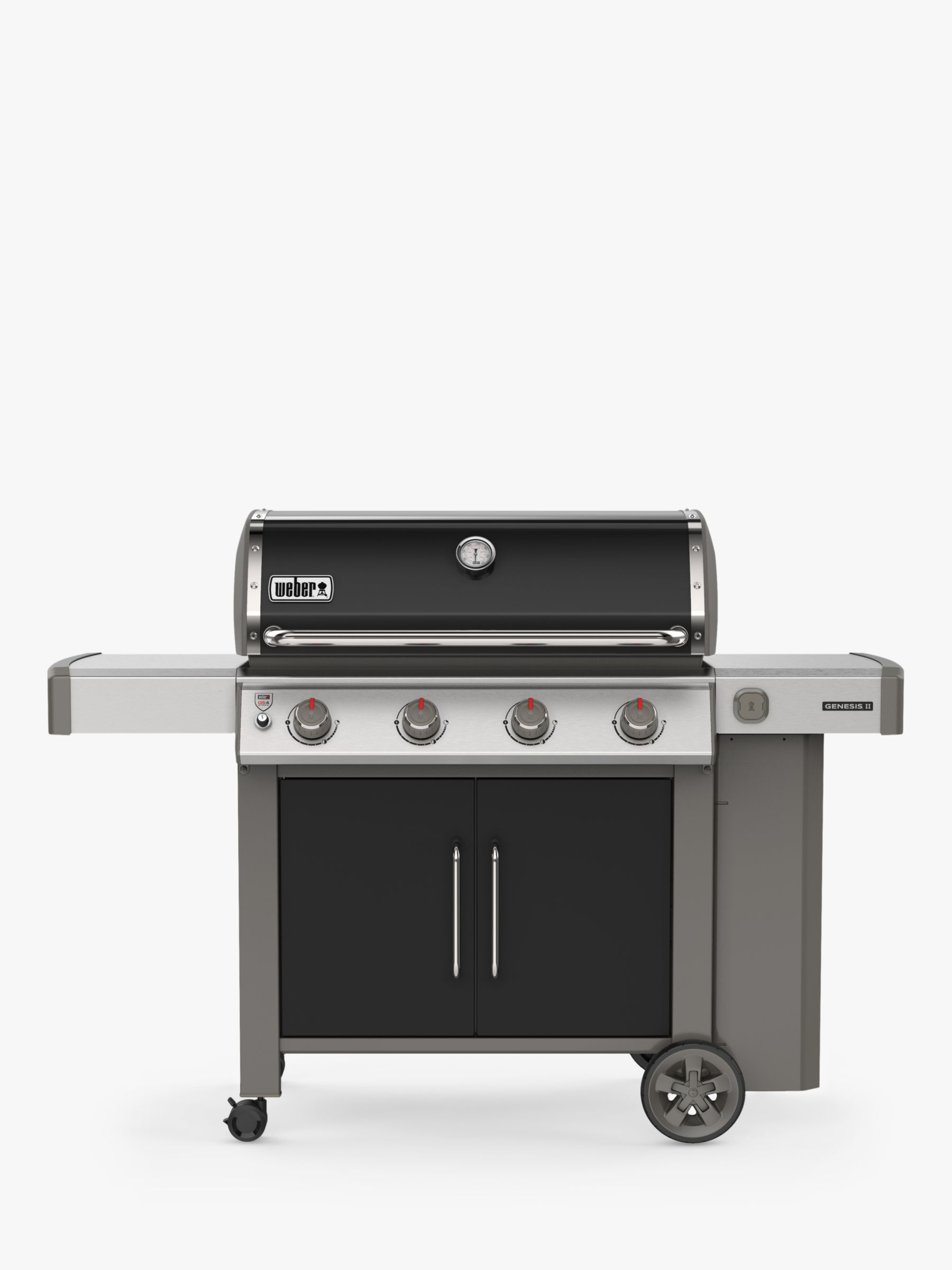 Weber Weber Genesis II E-415 4-Burner Gas BBQ, Black