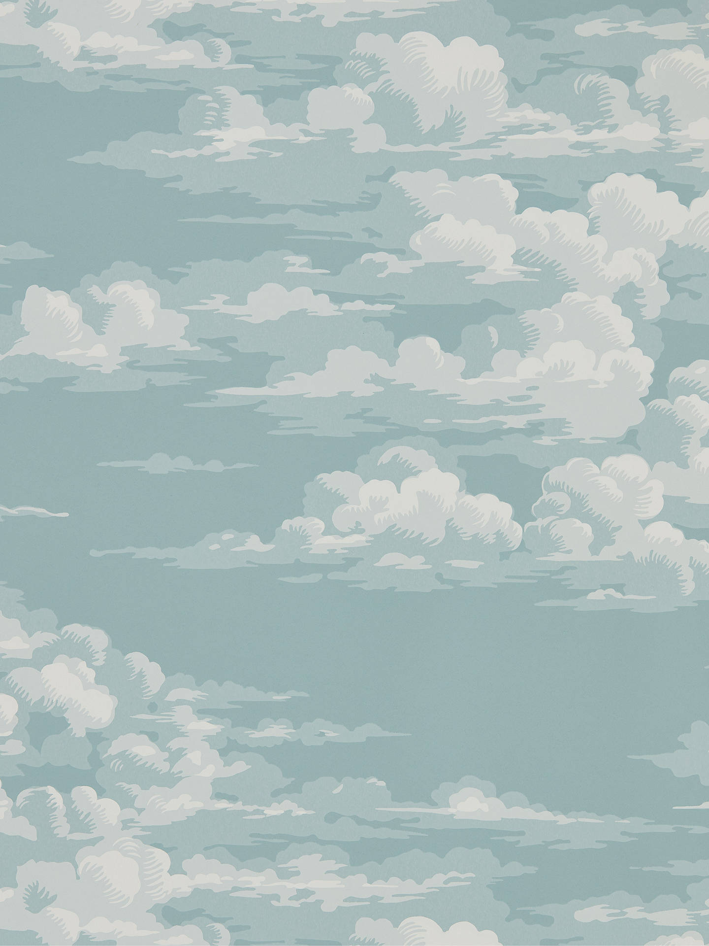 Buy Sanderson Silvi Clouds Wallpaper, 216599 Online at johnlewis.com