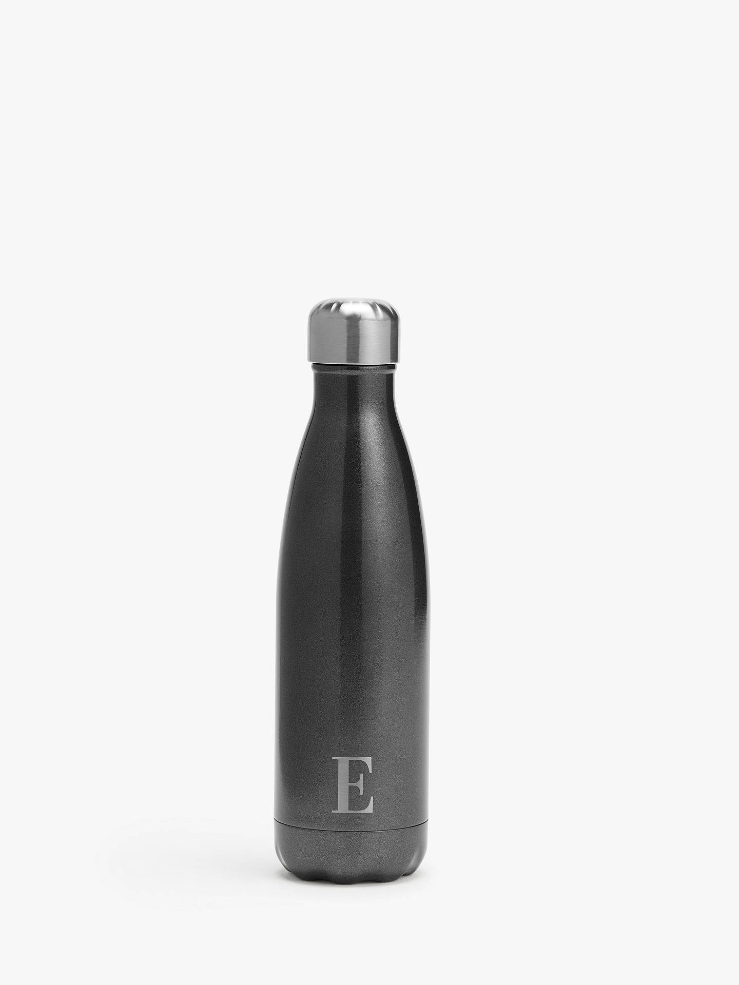 BuyS'well Smokey Eye Monogrammed Vacuum Insulated Drinks Bottle, 500ml, E Online at johnlewis.com