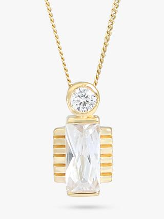 V by Laura Vann Jolie Crystal Pendant Necklace c6446cd9bae8