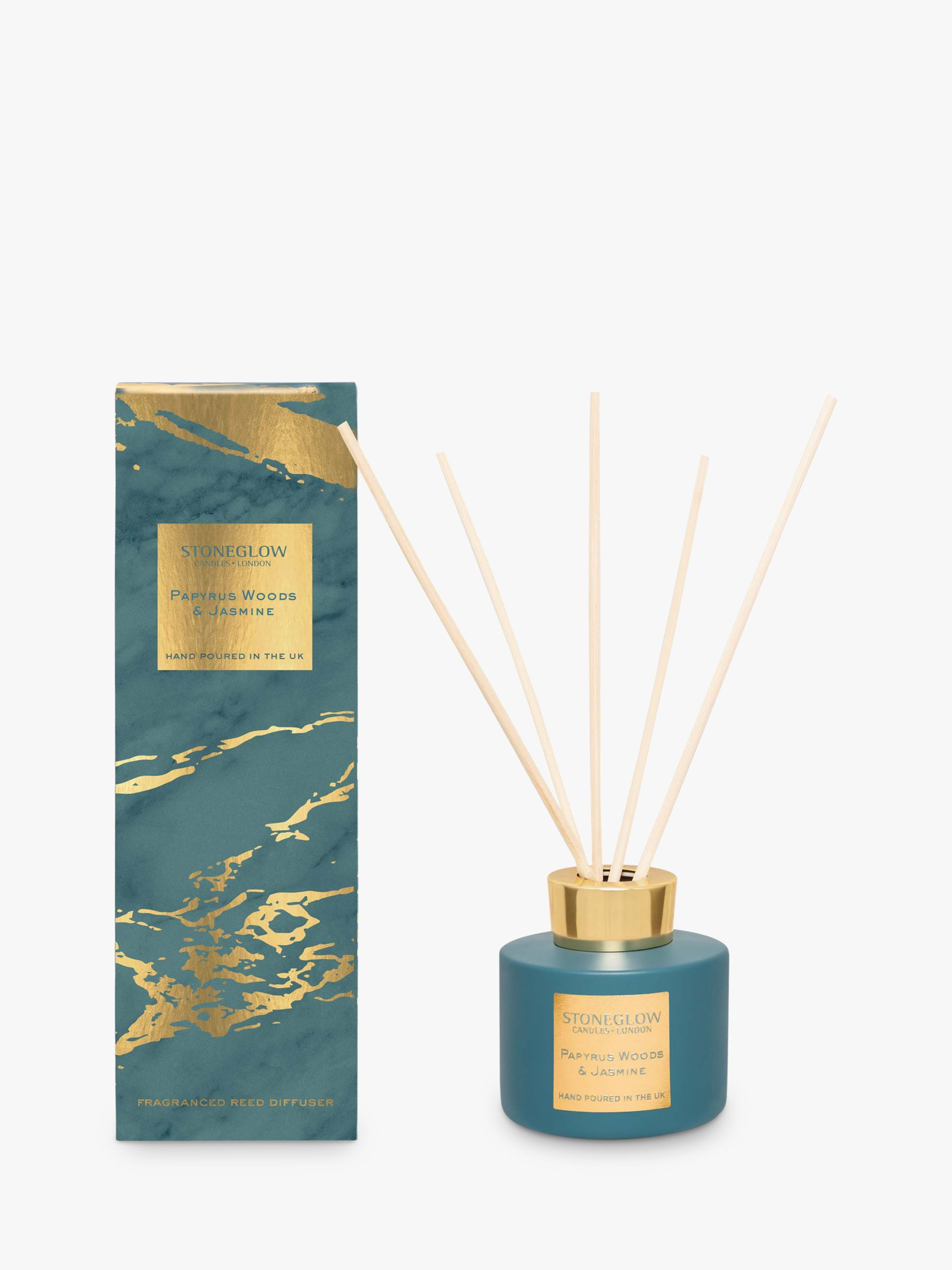 Stoneglow Stoneglow Luna Papyrus Woods & Jasmine Reed Diffuser, 120ml