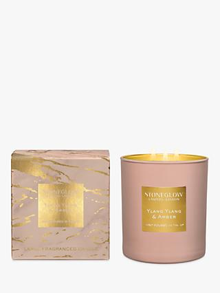 Stoneglow Luna Luxe Ylang Ylang   Amber Scented Candle 4f0688eff52bd