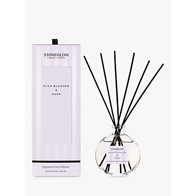 Stoneglow Modern Classic Plum Blossom & Musk Reed Diffuser, 140ml