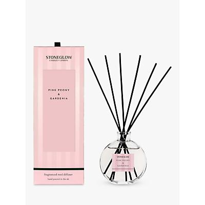 Stoneglow Modern Classic Pink Peony & Gardenia Reed Diffuser, 140ml