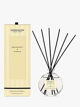 Stoneglow Modern Classic Grapefruit & Mimosa Reed Diffuser, 120ml
