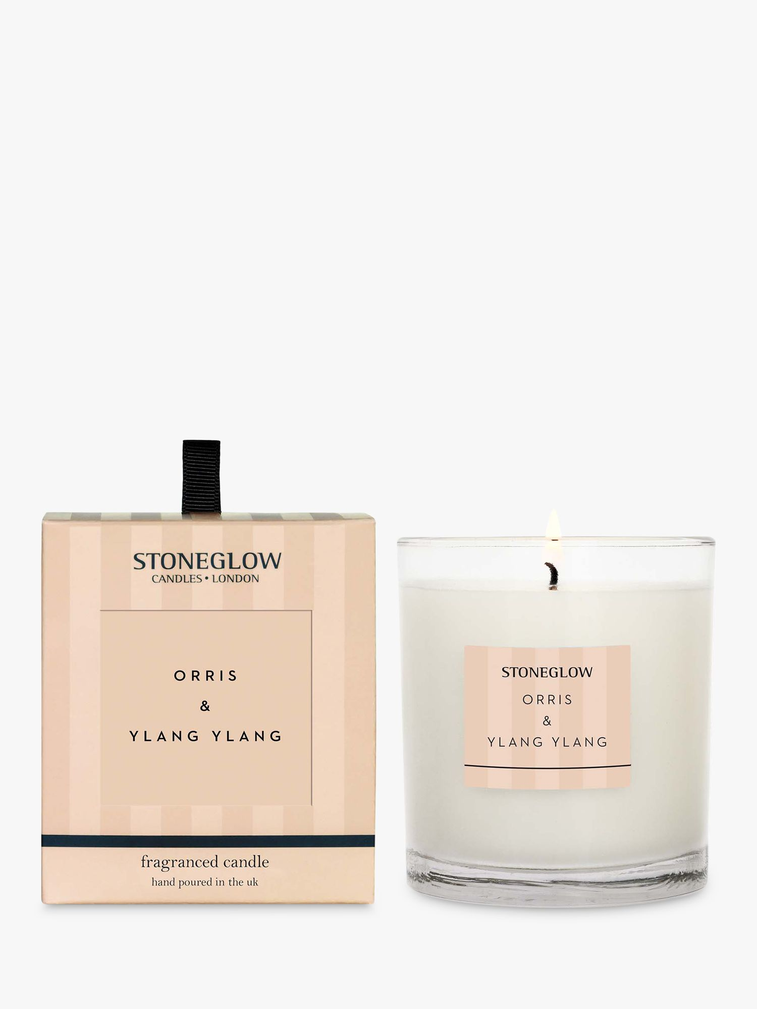 Stoneglow Stoneglow Modern Classic Orris & Ylang Ylang Scented Candle, 220g