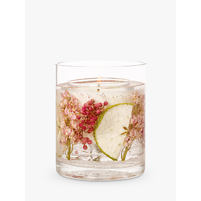 Stoneglow Natures Gift Apple Blossom Scented Gel Candle, 160g