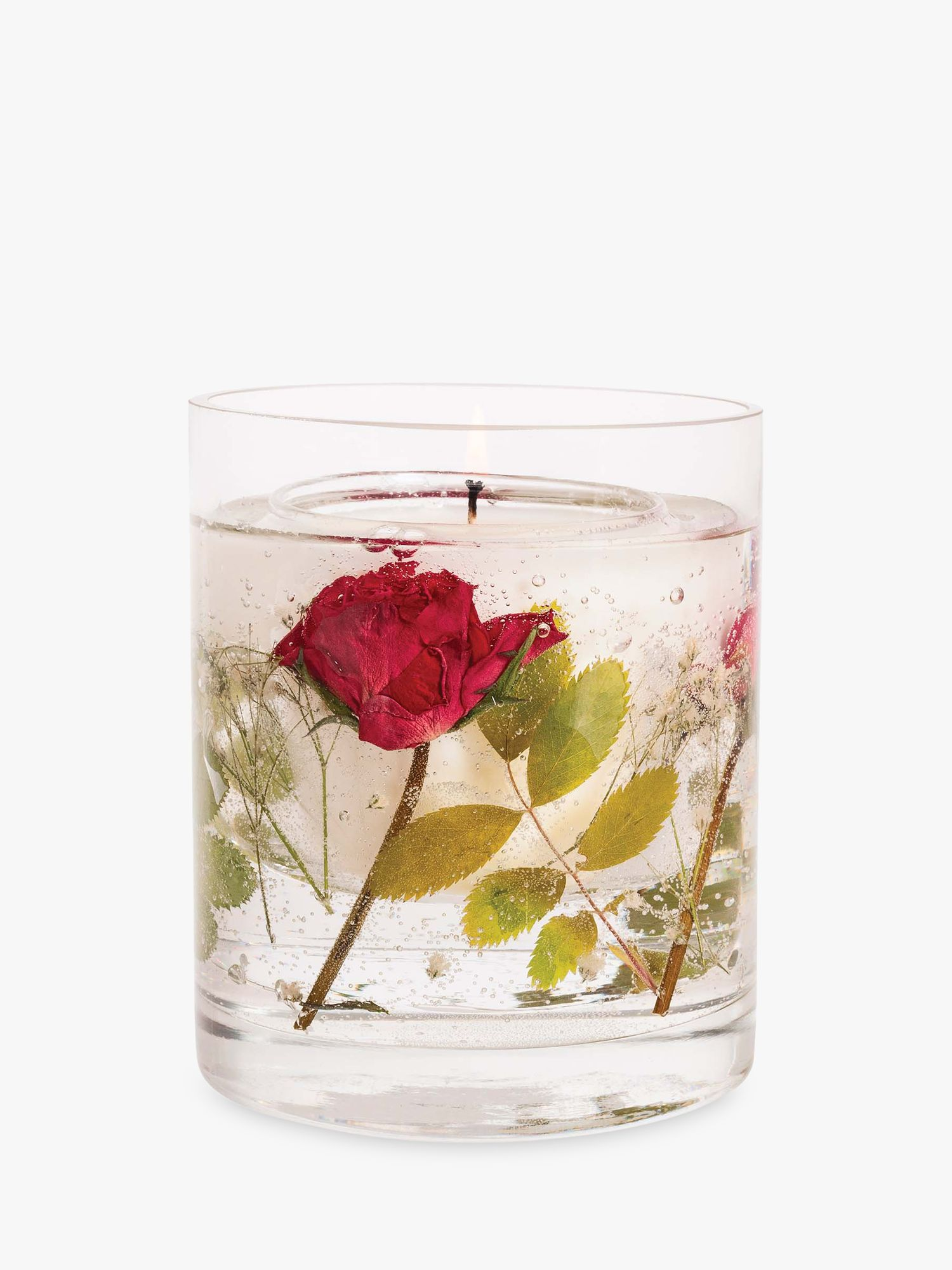 Stoneglow Stoneglow Natures Gift Red Roses Gel Scented Candle, 160g