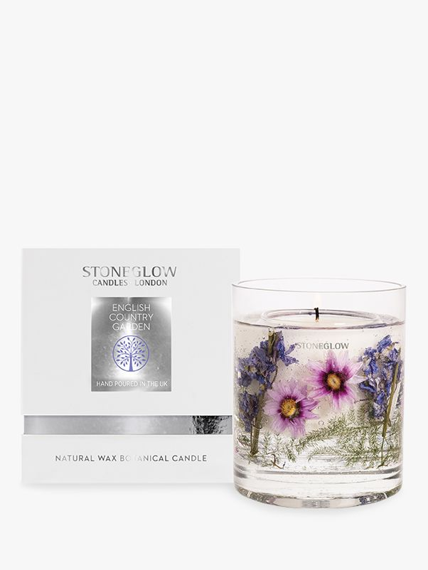Stoneglow Stoneglow Natures Gift English Country Garden Gel Scented Candle, 160g