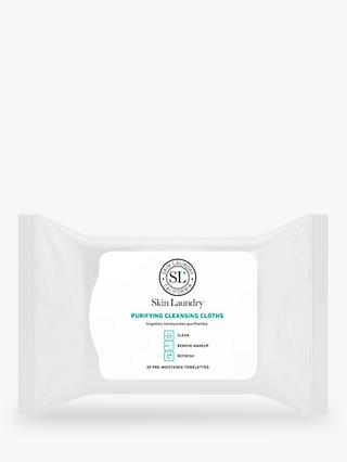 Skin Laundry Purifying Cleansing Cloths, x 30
