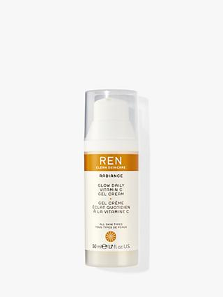 REN Radiance Glow Daily Vitamin C Gel Cream, 50ml
