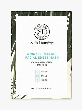 Skin Laundry Wrinkle Release Facial Sheet Mask, x 8
