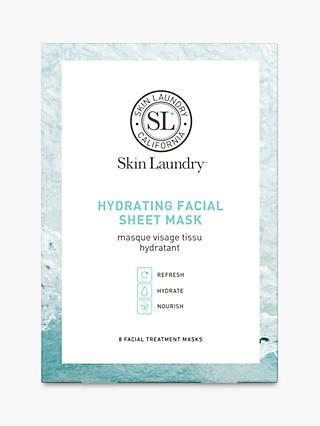 Skin Laundry Hydrating Facial Sheet Mask, x 8