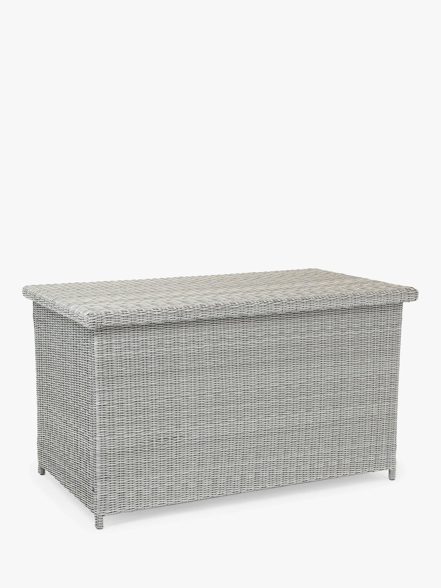 Kettler Palma Outdoor Cushion Storage Box White Wash