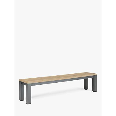 KETTLER Elba Garden Dining Bench, FSC-Certified (Teak Wood), 200cm