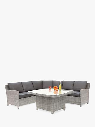 KETTLER Palma Grande 6-Seat Garden Corner Sofa and Table Set