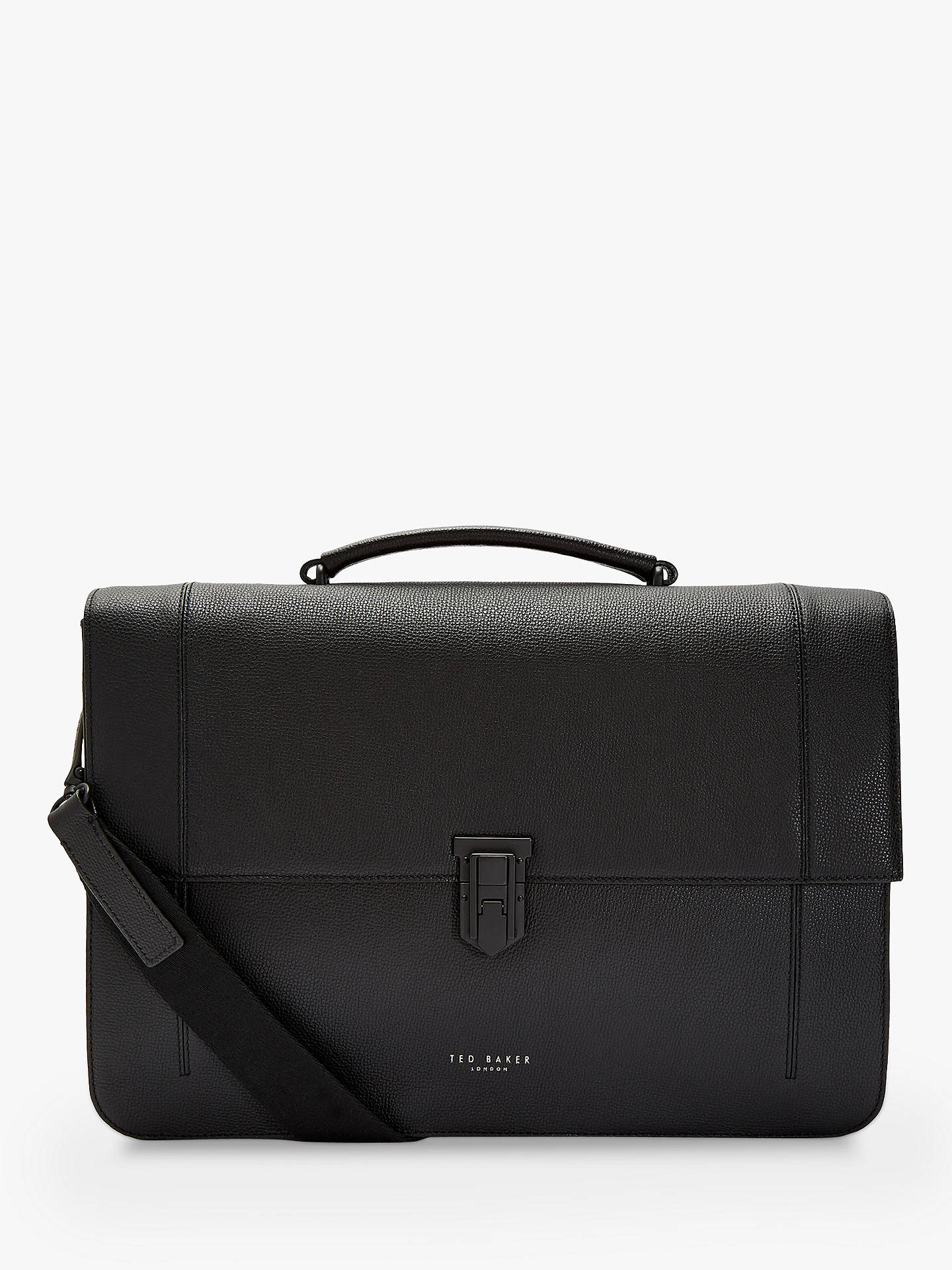 5cbb910d82c4 Buy Ted Baker Aggro Leather Briefcase