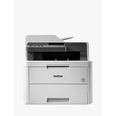 Brother DCP-L3550CDW Wireless Three-in-One Colour Laser Printer, Grey
