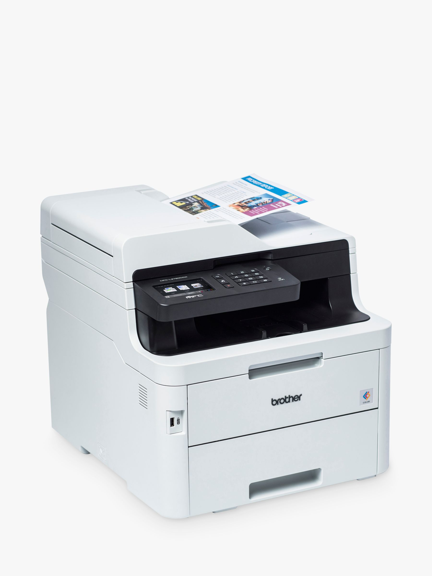 Brother Brother MFC-L3750CDW Wireless All-in-One Colour Laser Printer & Fax Machine