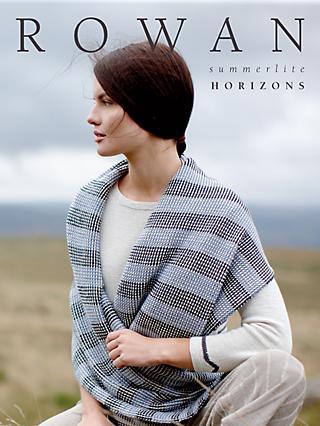 c99a78e46 Rowan Summerlite Horizons Knitting Pattern Book