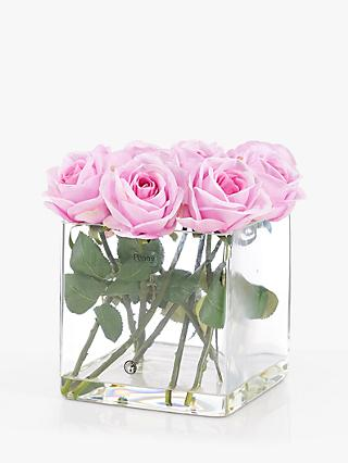 3dea1a56b92 Peony Potted Artificial Roses