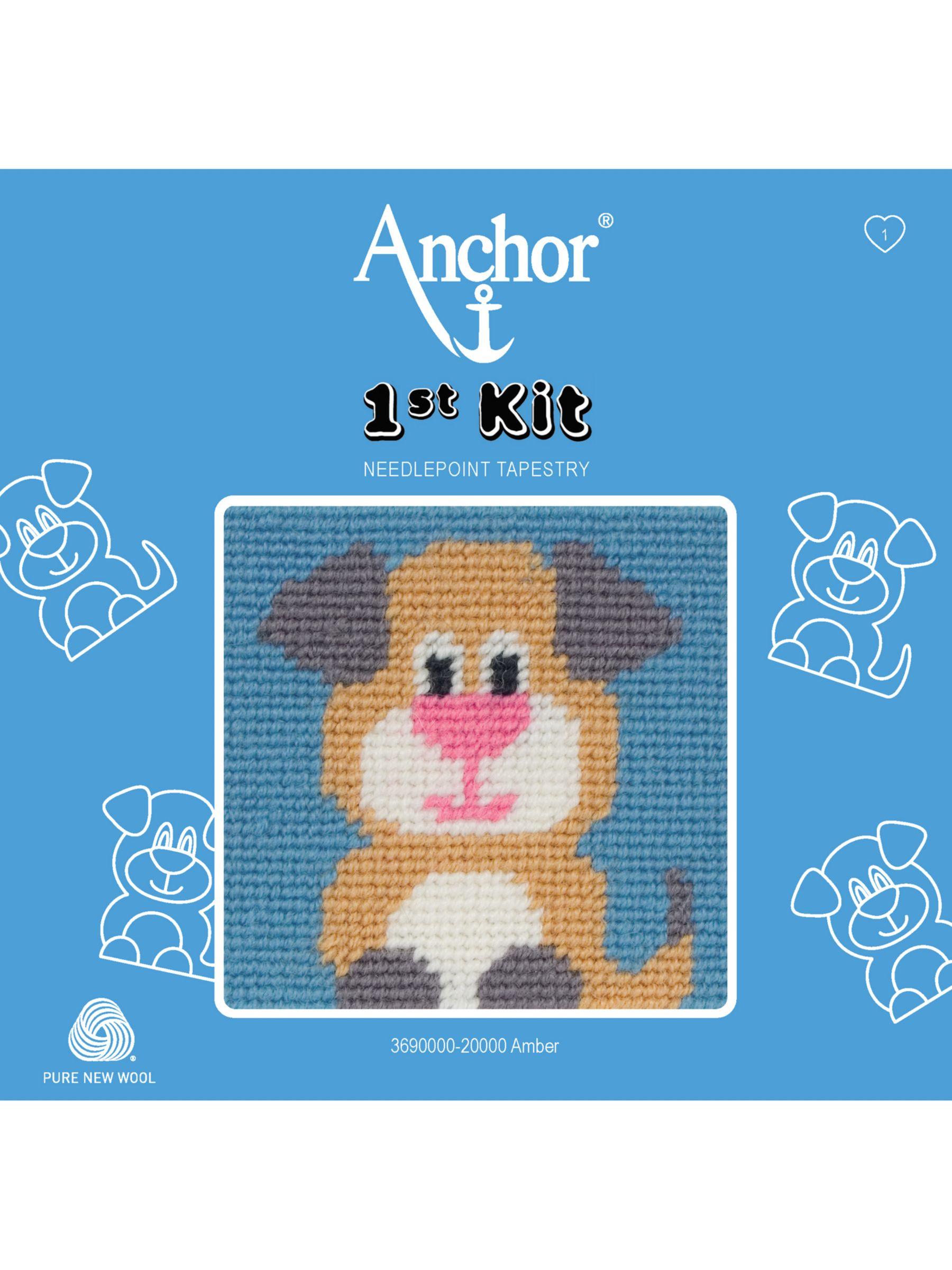 Anchor Anchor Amber The Dog Starter Tapestry Kit
