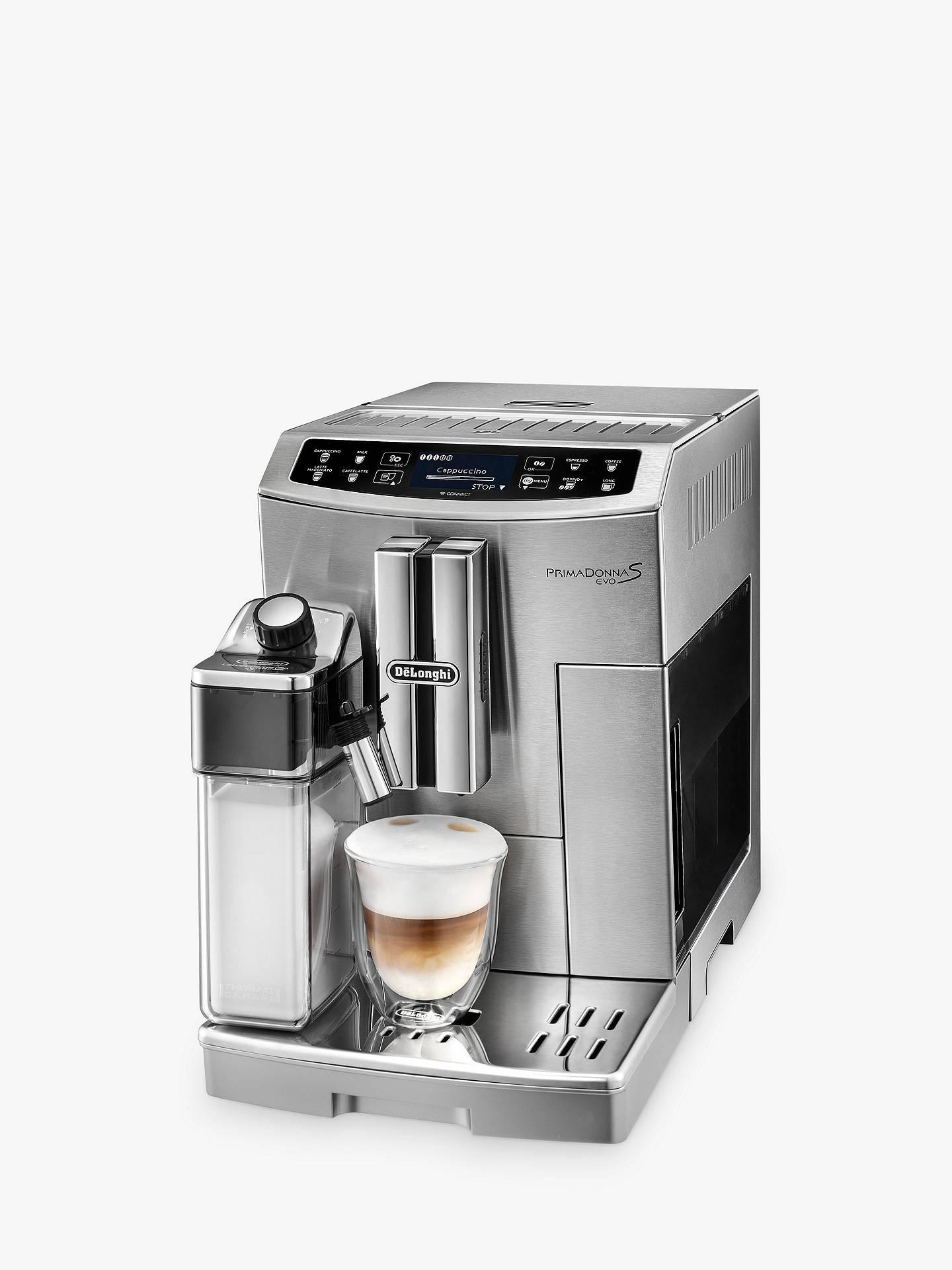 Delonghi Ecam 51055 Primadonna S Evo Bean To Cup Coffee Machine Silver
