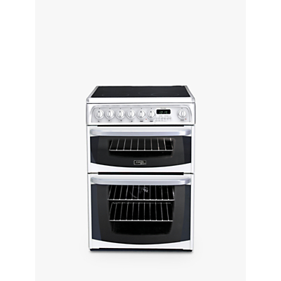 Hotpoint CH60EK 60cm Double Electric Cooker, B/B Energy Rating