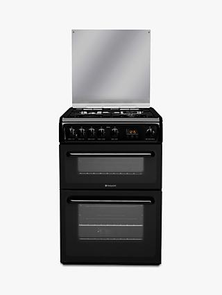 Hotpoint HAGL60 60cm Double Gas Cooker, A+ Energy Rating,