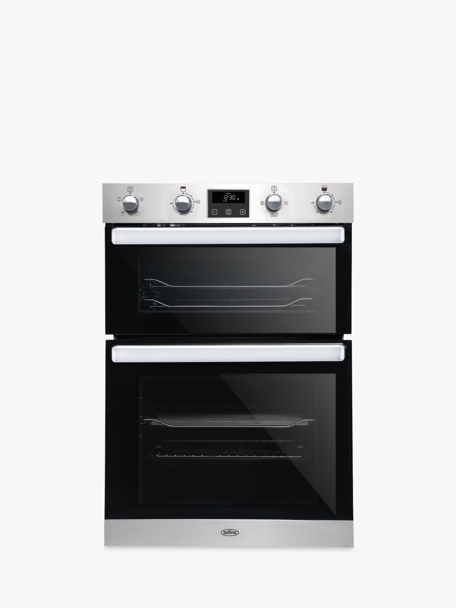 Belling BI902FP Built-In Double Electric Oven, A/A Energy Rating