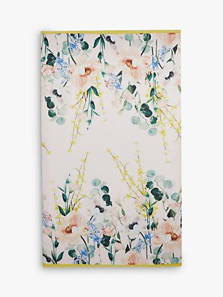 Ted Baker Edia Floral Scarf, Nude/Multi