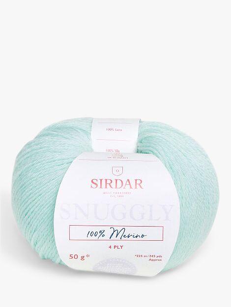 Sirdar Sirdar Snuggly Merino 4 Ply Yarn, 50g