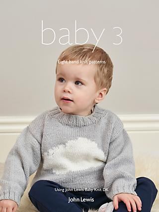 bb26e77e5 John Lewis   Partners Baby 3 Knitting Pattern Booklet