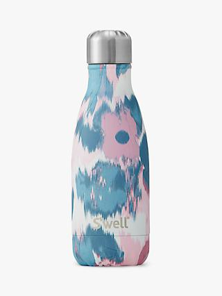db09315ecf S'well Watercolour Lillies Vacuum Insulated Drinks Bottle, 260ml, Pink