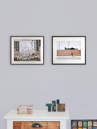 Buy LS Lowry - Coming From The Mill 1930 Framed Print & Mount, 44 x 50.8cm Online at johnlewis.com