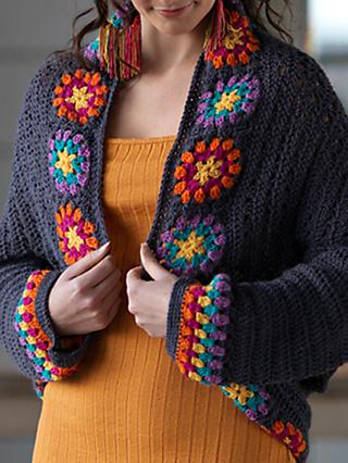 West Yorkshire Spinners Colour Me Happy Shrug Crochet Pattern