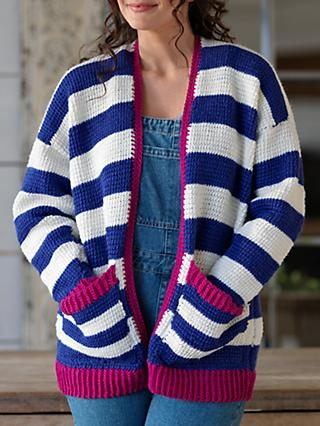 West Yorkshire Spinners Summers Dawn Cardigan Crochet Pattern
