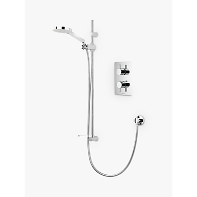 Image of Aqualisa Rise DCV Adjustable Height Vita Hand Shower