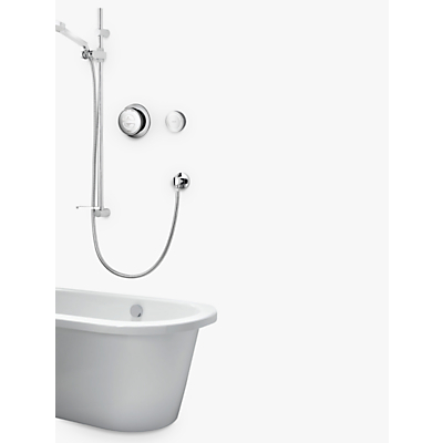 Image of Aqualisa Rise Digital Concealed Gravity Pumped Vita Hand Shower & Bath Filler