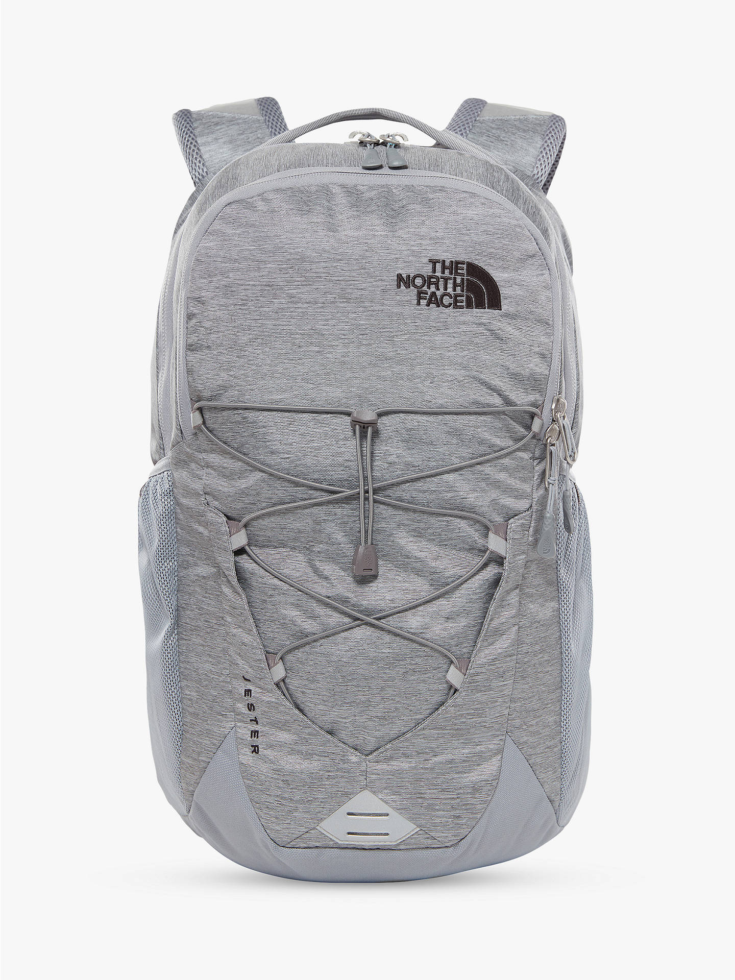 85df7f8a062 Buy The North Face Jester Day Backpack, Grey Online at johnlewis.com ...